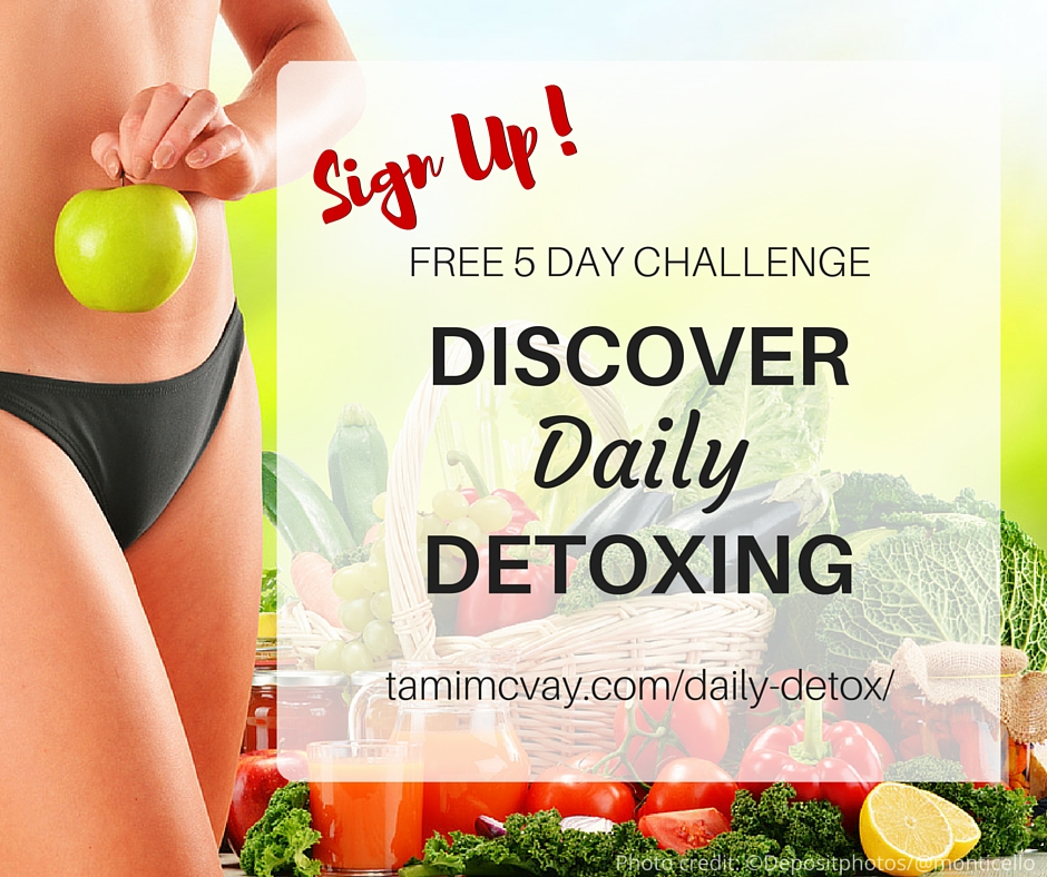 Discover Daily Detoxing | Tami McVay - Wellness & Lifestyle Coach